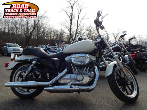 2014 Harley-Davidson XL883L - Sportster® SuperLow® -- White for sale craigslist